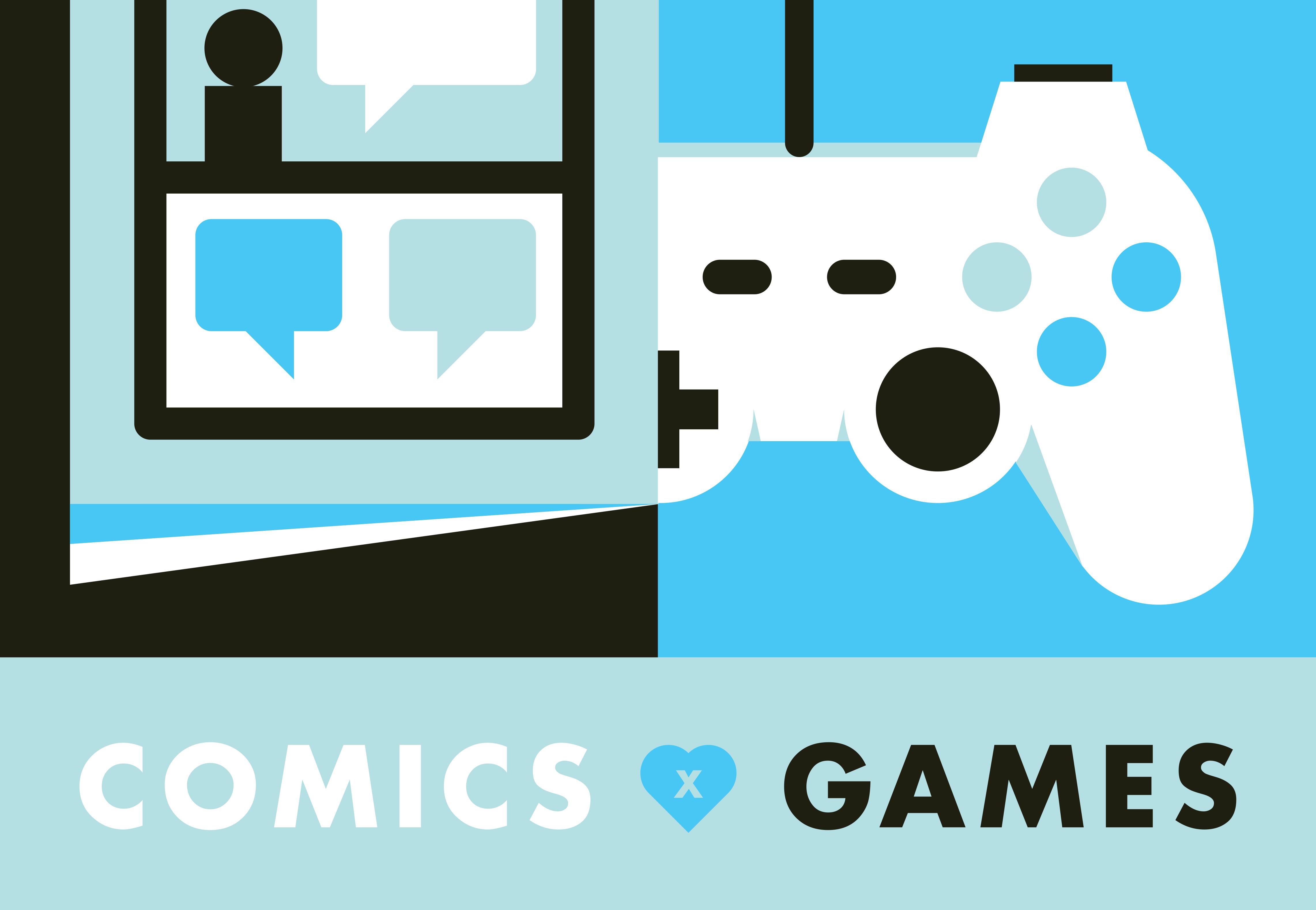 Comics X Games Hand Eye Society