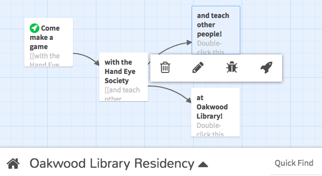 Call for Interactive Fiction Artist: Oakwood Library